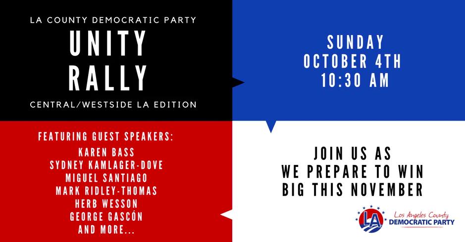 Westside GOTV Unity Rally