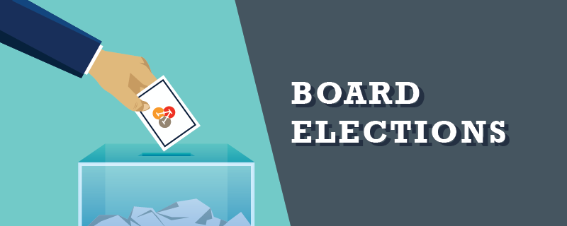 February 17: Annual Board Election